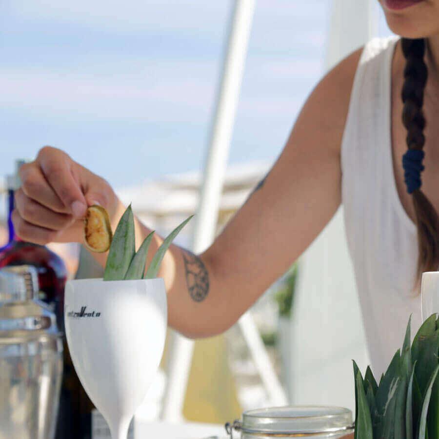 aperitivi in spiaggia a fregene Controvento