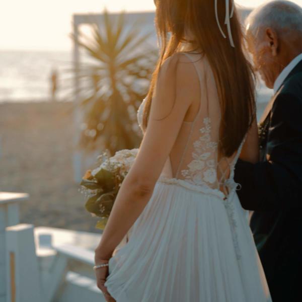 matrimoni in spiaggia fregene controvento